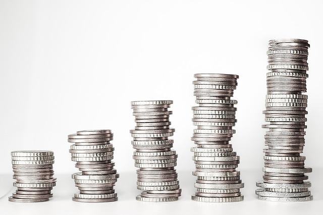 komínky z mincí