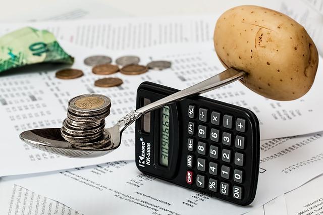 brambor a mince na lžíci